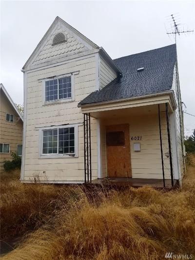 Tacoma Single Family Home For Sale: 6021 S Cedar St
