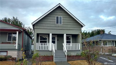 Pierce County Single Family Home For Sale: 1214 S Sheridan Ave