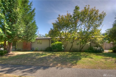 Olympia Single Family Home For Sale: 1009 Eskridge Blvd SE