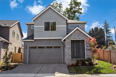 Lynnwood Single Family Home For Sale: 14009 18th Place W #20