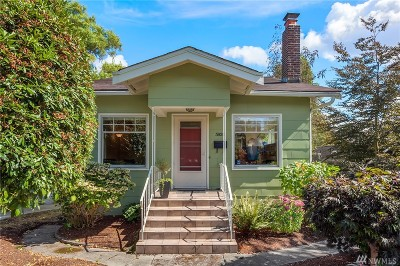 Seattle Single Family Home For Sale: 3926 Midvale Ave N