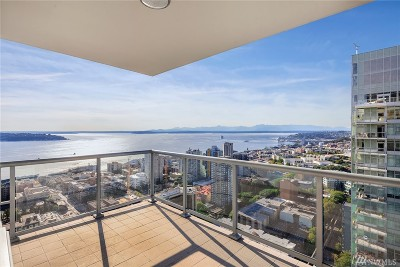 Seattle Condo/Townhouse For Sale: 588 Bell St #3906S