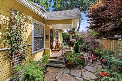 Seattle Single Family Home For Sale: 8106 8th Ave NW