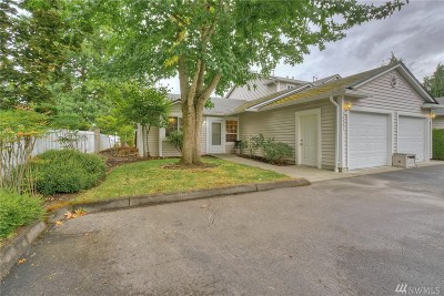 Puyallup Condo/Townhouse For Sale: 10901 63rd St E