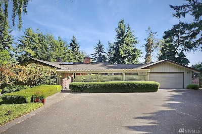 Mercer Island Single Family Home For Sale: 4400 92nd Ave SE