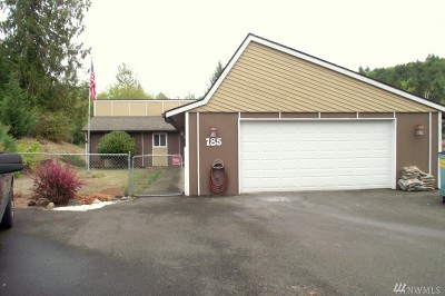 Chehalis Single Family Home For Sale: 185 Nix Rd