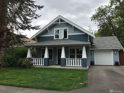 Olympia Single Family Home For Sale: 2909 Boulevard St SE