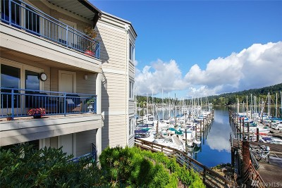 Gig Harbor Condo/Townhouse For Sale: 3889 Harborview Dr #F-106