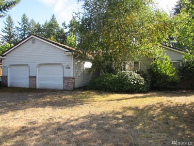 Single Family Home For Sale: 9409 Cook Ct NE
