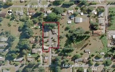 Thurston County Multi Family Home For Sale: 5800 Huntamer Lane SE