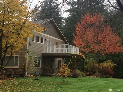 Snohomish Single Family Home For Sale: 21821 96th Ave SE