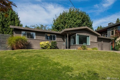 Kirkland Single Family Home For Sale: 10602 NE 47th Place