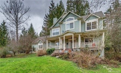Bellingham Single Family Home For Sale: 5081 Samish Wy