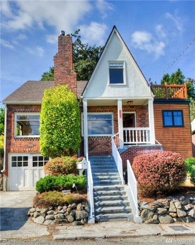 Seattle Single Family Home For Sale: 5535 56th Ave S