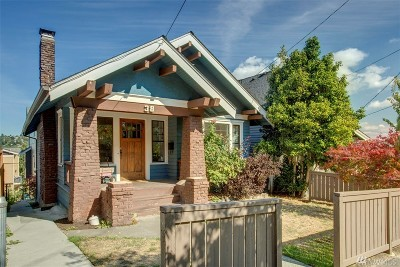 Seattle Single Family Home For Sale: 38 Florentia St