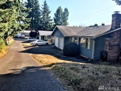 University Place Multi Family Home For Sale: 3724 Tahoma Place W