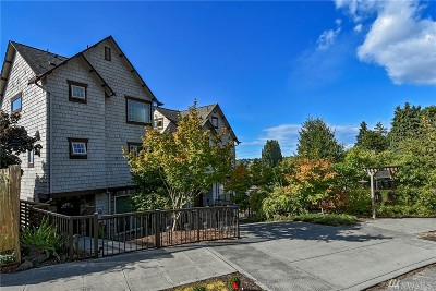 Seattle Single Family Home For Sale: 5415 Baker Ave NW #B