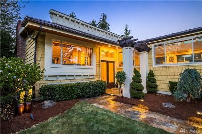 Medina Single Family Home For Sale: 8160 NE 24 St