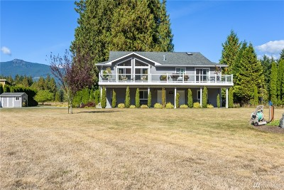 Sedro Woolley Single Family Home For Sale: 37701 Cape Horn Rd