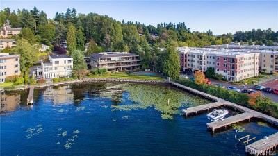 Kirkland Condo/Townhouse For Sale: 4437 Lake Washington Blvd NE #302