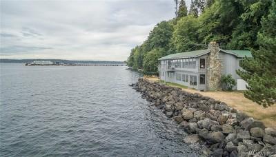 Vashon WA Single Family Home For Sale: $699,999