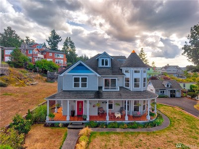 Anacortes Single Family Home For Sale: 407 2nd St