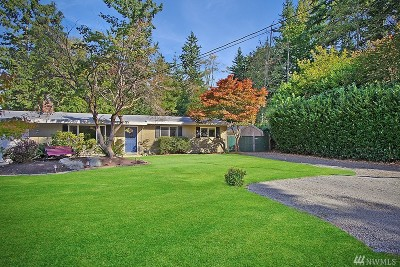 Bothell Single Family Home Contingent: 109 Bellflower Rd