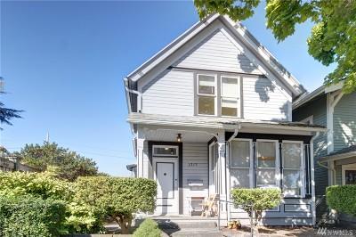 Bellingham Single Family Home Sold: 1213 N Garden St