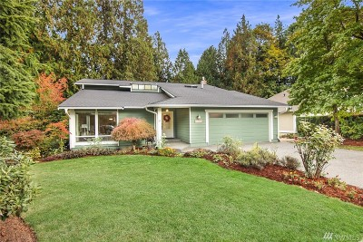 Redmond Single Family Home For Sale: 4804 159th Ave NE