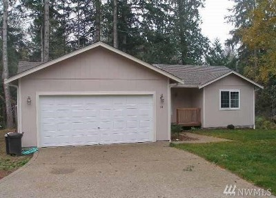Shelton WA Single Family Home For Sale: $199,950