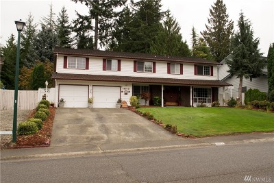 Renton Single Family Home For Sale: 16512 162nd Place SE