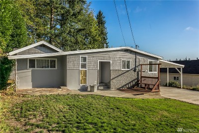 Lynnwood Single Family Home For Sale: 3031 175th St SW