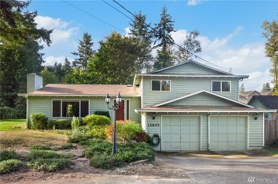 Bothell Single Family Home Contingent: 15805 Cascadian Wy