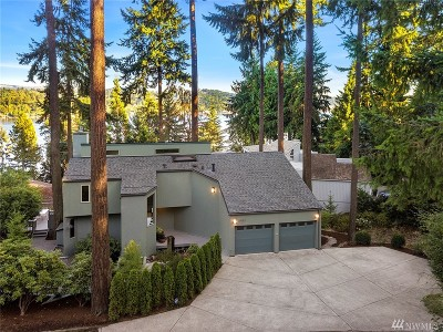 Mercer Island Single Family Home For Sale: 5452 E Mercer Wy