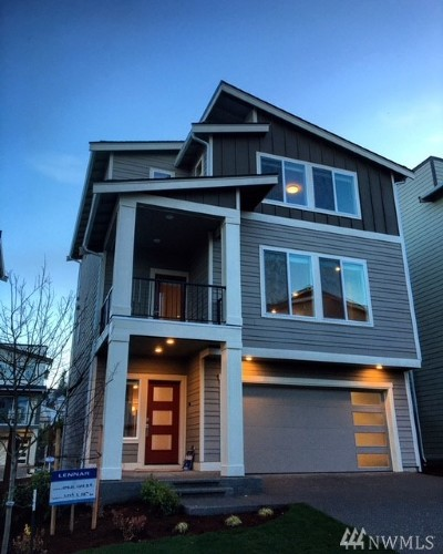 Seattle, Bellevue, Kenmore, Kirkland, Bothell Single Family Home For Sale: 8225 S 118th Lane #Lot21