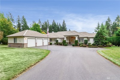 Woodinville Single Family Home For Sale: 15905 NE 153rd St