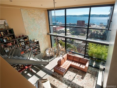 Seattle Condo/Townhouse For Sale: 80 Vine #604