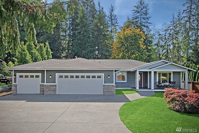 Stanwood Single Family Home For Sale: 3932 Rose Rd