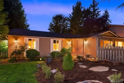 Kirkland Single Family Home Contingent: 13511 91st Place NE