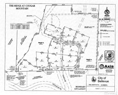 Bellevue Residential Lots & Land For Sale: 17845 SE Cougar Mountain Dr