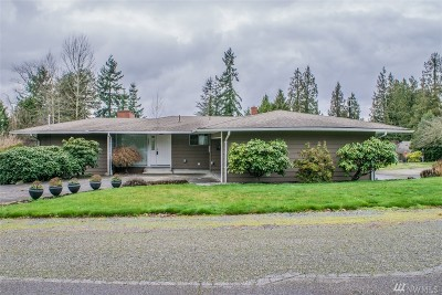 Snohomish Single Family Home For Sale: 1522 Holly Vista Dr