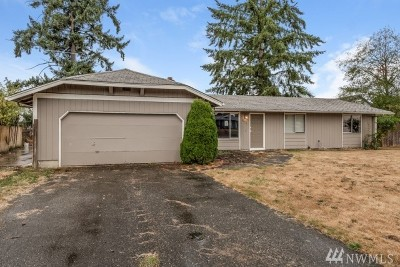 Puyallup WA Single Family Home For Sale: $244,860
