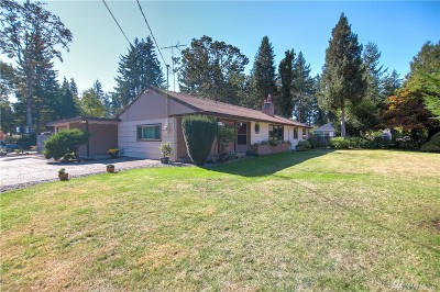 Lakewood Single Family Home For Sale: 6316 117th St SW