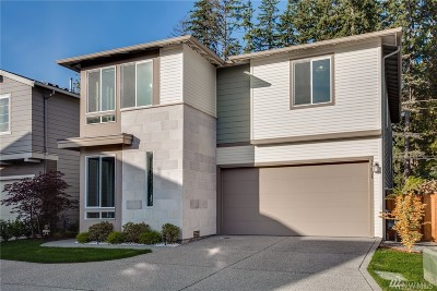 Bothell Condo/Townhouse For Sale: 17828 35th Dr SE