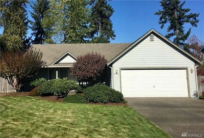 Spanaway Single Family Home For Sale: 7001 196th St Ct E