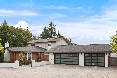 Mercer Island Single Family Home For Sale: 4250 Crestwood Place