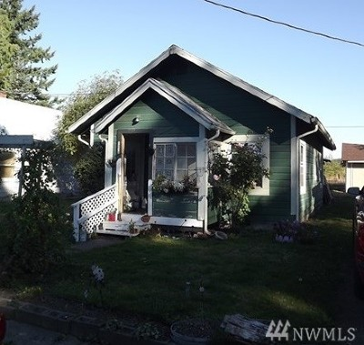 Centralia Single Family Home For Sale: 1218 S Tower Ave