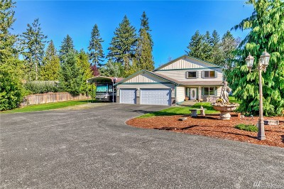 Puyallup Single Family Home For Sale: 13115 127th Av Ct E