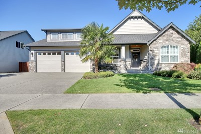 Sumner Single Family Home For Sale: 15515 48th St Ct E