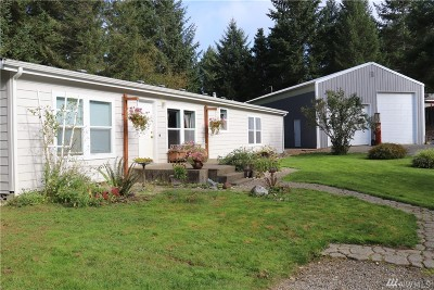 Shelton Single Family Home Contingent: 140 E Rolling Hills Dr